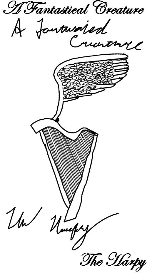 Fantasticreature week - Harpy